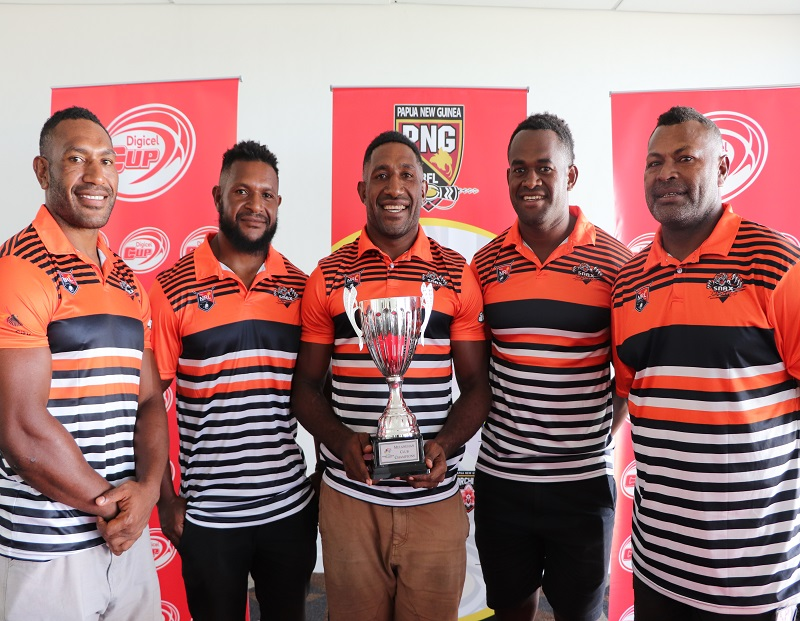 LAE SNAX TIGERS NAME 19 MAN SQUAD FOR MELANESIA CUP GAME IN FIJI
