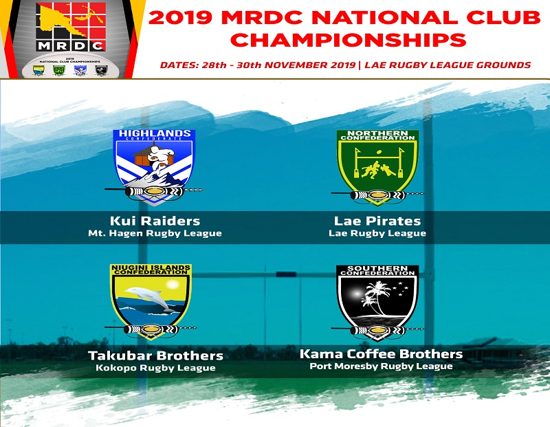 NATIONAL CLUB CHAMPIONSHIPS SET