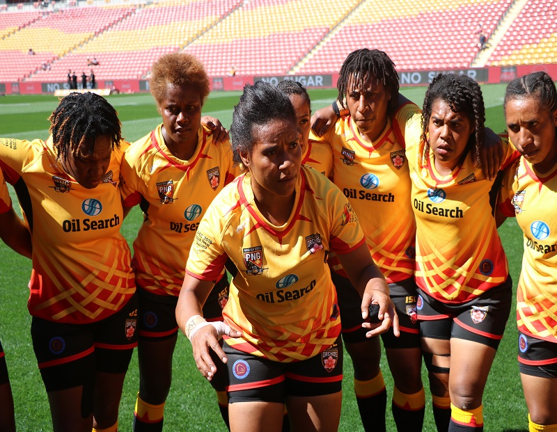 OIL SEARCH PNG ORCHIDS TEAM NAMED
