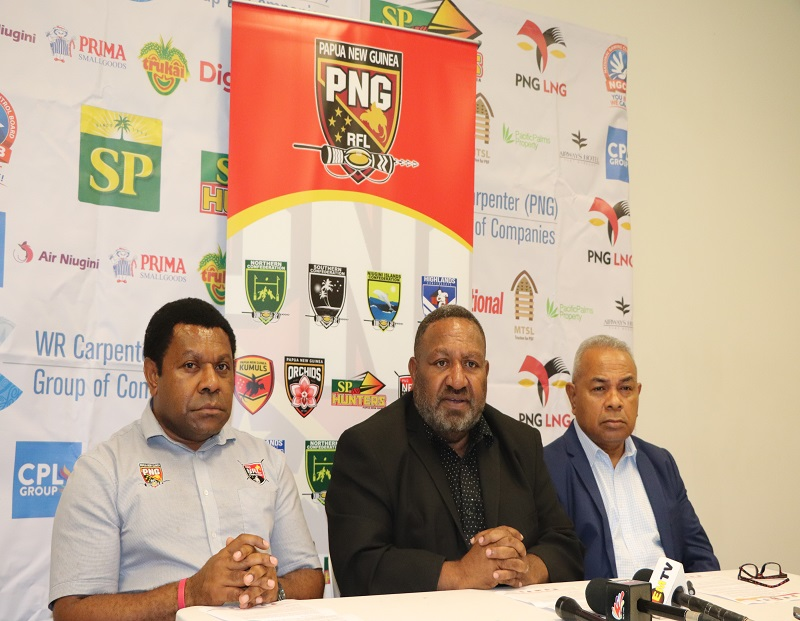 PNGRFL SUSPENDS ALL RUGBY LEAGUE COMPETITIONS AND PROGRAMS