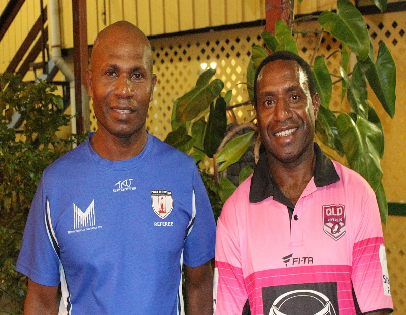 PNG REFEREES OFFICIATE AT QUEENSLAND CARNIVAL